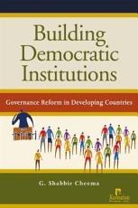 Building Democratic Institutions PDF