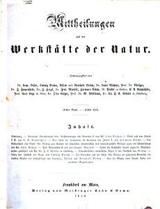 Aus allen Reichen der Natur PDF