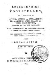 Verdediging van het eerste stuk der Rekenkundige voorstellen tegen de recensie in de Nieuwe vaderlandsche bibliotheek