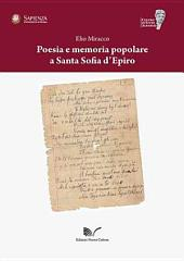 Poesia e memoria popolare a Santa Sofia d'Epiro