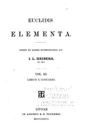 Euclidis Opera omnia: Volume 3