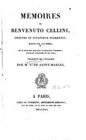 Mémoires de Benvenuto Cellini