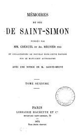 Mémoires, publ. par mm. Chéruel et A. Regnier fils. [With] Table alphabétique rédigée par P. Guérin: Volume 16