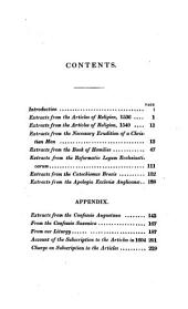 Original sin, free-will, grace, regenerations, justification, faith, good works and universal redemption ... wich are the groundwork of the articles of our established church: with an important account of the subscription to the articles in 1804, and an historical and critical introduction