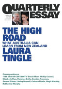 Australia Vs. New Zealand; Quarterly Essay 80