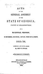 Acts and Resolutions of the General Assembly of the State of Georgia