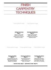 Finish Carpentry Techniques PDF