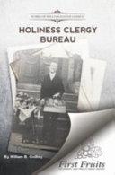 Holiness Clergy Bureau Book