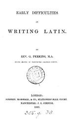 Early difficulties in writing Latin