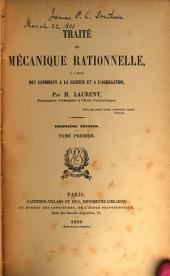 Traité de mécanique rationnelle: à l'usage des candidats à la licence et à l'agrégation