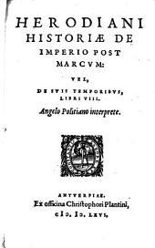 De imperio post Marcum Libri octo