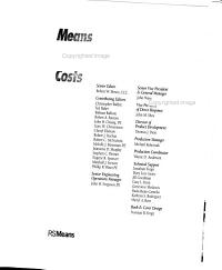 Means Residential Detailed Costs PDF