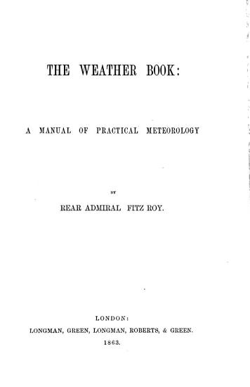The Weather Book PDF