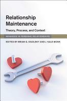 Relationship Maintenance PDF