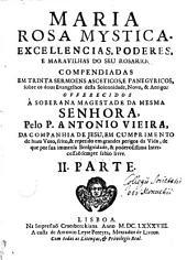 Maria rosa mystica: Volumen 2
