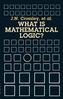 What Is Mathematical Logic  PDF