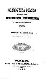 Starożytna Polska pod względem historycznym, jeograficznym i statystycznym opisana: 2,2