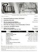 ITEA Journal