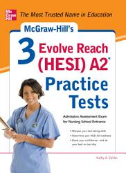Mcgraw Hill S 3 Evolve Reach Hesi A2 Practice Tests Book PDF