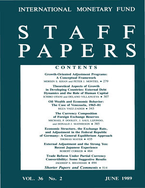 IMF Staff papers