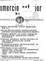 Comercio exterior de Mexico PDF
