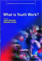 What is Youth Work  PDF