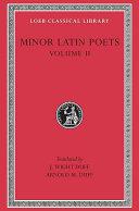 Minor Latin Poets