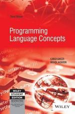 PROGRAMMING LANGUAGE CONCEPTS, 3RD ED