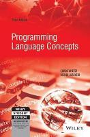 PROGRAMMING LANGUAGE CONCEPTS  3RD ED PDF