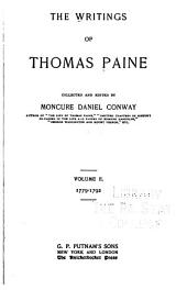 The Writings of Thomas Paine: Volume 2