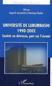 Université de Lubumbashi: 1990-1992 - Société en détresse, pari sur l'avenir