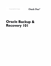 Oracle Backup & Recovery 101