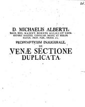 De venae sectione duplicata