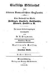 Gulliver's Reisen in unbekannte Länder: Bände 1-2