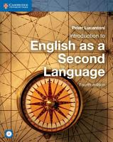 Introduction to English as a Second Language Coursebook with Audio CD PDF