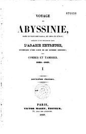 Voyage en Abyssinie, dans le pays des Galla, de Choa et d'Ifat: Volume1