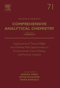 Applications of Time-of-Flight and Orbitrap Mass Spectrometry in Environmental, Food, Doping, and Forensic Analysis