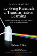 The Handbook of the Evolving Research of Transformative Learning Based on the Learning Activities Survey PDF