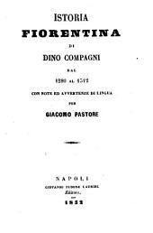 Istoria Fiorentina ... dal 1280 al 1312