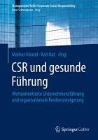 CSR und gesunde F  hrung PDF
