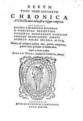 Rerum toto orbe gestarum Chronica