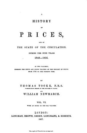 A History of Prices and of the State of Circulation     PDF