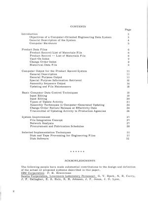 Computer Control of Engineering Drawing  Scheduling and Procurement Data PDF