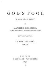 God's Fool: A Koopstad Story, Volume 2