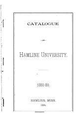 The Bulletin of Hamline University: Catalog number