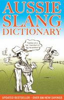 Aussie Slang Dictionary PDF