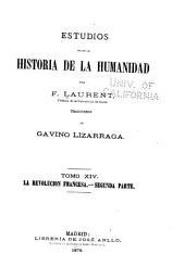 Estudios sobre la historia de la humanidad: Volumen 14