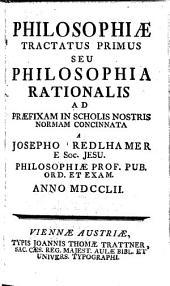 Philosophiae tractatus duo
