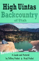High Uintas Backcountry Book