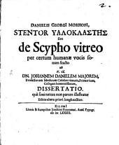 De Scypho vitreo